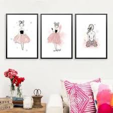 kinderzimmer deko m dchen kawaii baby mädchen leinwand poster wand kunstdruck kinderzimmer