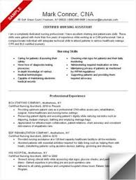 Example Of A Nursing Resume by If You Think Your Cna Resume Could Use Some Tlc Check Out This