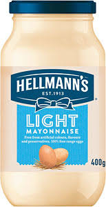hellmans light mayo nutrition hellmann s light mayonnaise 400g compare prices buy online