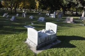 cemetery headstones the history some of logan s headstones arts and