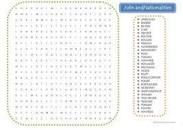 word search nationalities printable wordsearch jobs and nationalities worksheet free esl printable