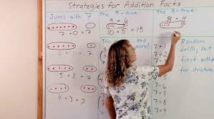 tricks u0026 strategies for addition facts grade 2 math youtube
