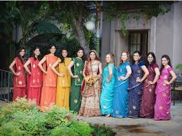themes indian girl choosing indian wedding bridesmaid dresses indian fashion blog