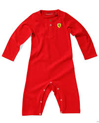 ferrari clothing body dziecięce ferrari baby grow long red ferrari t shirt