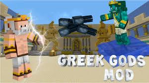 minecraft greek gods mod zeus poseidon u0026 hades vs
