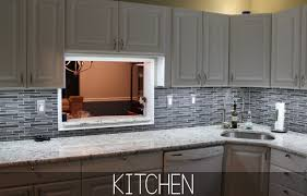 lighting for above cabinets and lights kitchen home gallery