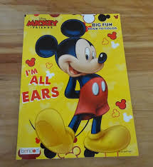 new disney mickey mouse coloring book i u0027m all ears big fun