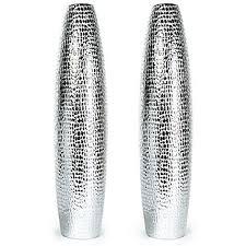 Silver Vases Plaza Vases Z Gallerie