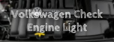 how to fix check engine light to reset the vw check engine light