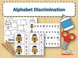 alphabet discrimination activities pirate theme by sweetiesclass