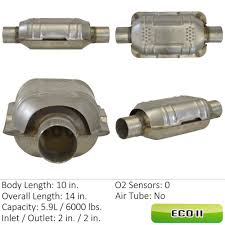 lexus warranty catalytic converter catalytic converter universal rear front right eastern mfg 83164