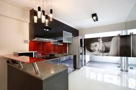 beautiful u0026 spacious hdb kitchen at bedok north