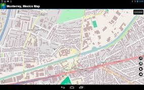 Monterrey Mexico Map by Amazon Com Monterrey Mexico Offline Map Appstore For Android