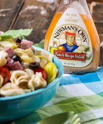 tortellini antipasto pasta salad with newman u0027s own dressing