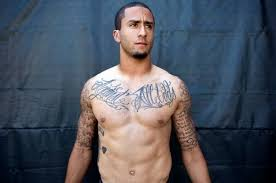 colin kaepernick took out his post bowl sadness at the