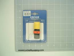 grohe 46138000 yellow quick disconnect coupling for kitchen