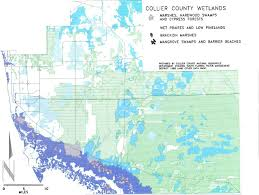 County Map Florida Growth Management Plan Current Continued Collier County Fl