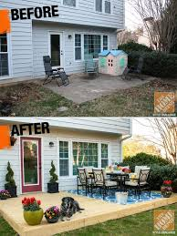 Backyard Renovations Before And After Small Yard Patio Ideas Christmas Ideas Best Image Libraries