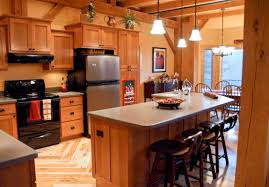 rushville illinois timber frame home interior photo built by