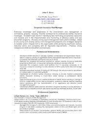 Property Management Resume Apt Management Resume