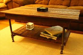 Pipe Coffee Table by Pallet And Iron Pipe Coffee Table Pallet Furniture Plans