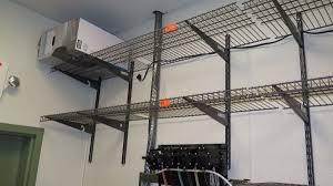 Wall Mounted Wire Shelving Qty 10 Closet Maid Wall Mounted Wire Shelving 16