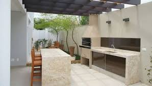 desain dapur lebar 2 meter 17 desain dapur terbuka minimalis dan ruang makan jadi satu outdoor