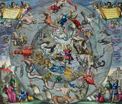 Northern Hemisphere Map Andreas Cellarius Map Of The Constellations Of The Northern