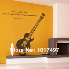 Aliexpresscom  Buy Free Shipping Fashion Guitar Music Removable - Family room quotes