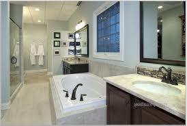 Black Faucet Bathroom by Bathroom Ideas With White Bathtub Black Faucet Chocolate Vanity