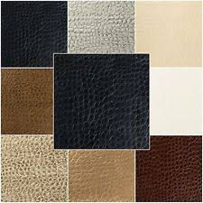 What Is Faux Leather Upholstery Faux Crocodile Fabric Ebay