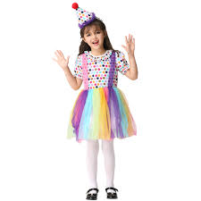 kids halloween clown costumes compare prices on clown costumes for girls kids online shopping