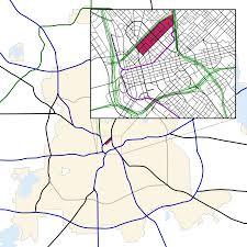 Dart Dallas Map Arts District Dallas Wikipedia