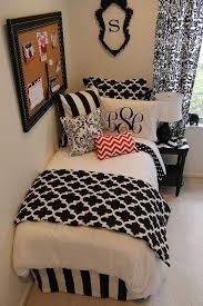 Black And White Bed 414 Best Teen Room Decorating Images On Pinterest Dorm Room
