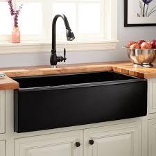 kitchen excellent black farmhouse kitchen sinks sink black
