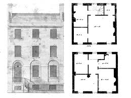 federal house plans federal house plans 100 colonial style home floor row
