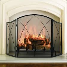 home decor simple decorative fireplace screen on a budget