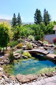 Waterfall Landscaping Ideas Exterior Design Fantastic Garden Waterfall Concept For Backyard