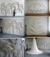 Room Decorating Ideas With Paper 30 Homemade Toilet Paper Roll Art Ideas For Your Wall Decor