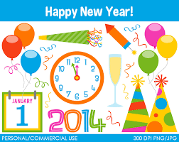 new year items new year s party clip clipart free