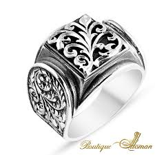 silver ring for men made silver ring silver jewellery silver