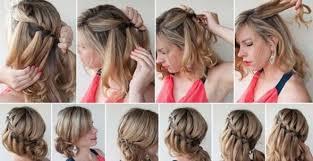 Hochsteckfrisurenen Mittellange Haar Zum Nachmachen by Schnelle Frisuren Für Mittellanges Haar Ovale Gesichter Haar