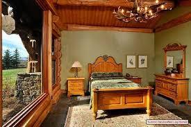 Rustic Themed Bedroom - bedroom rustic bedrooms design ideas canadian log homes cabin