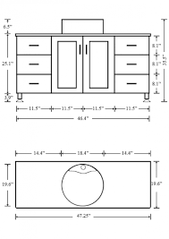 standard bathroom vanity depth contemporary standard height for bathroom vanity surprising