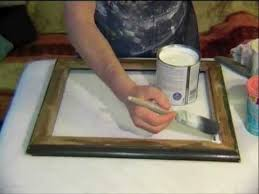 how to create your own gorgeous shabby chic finish for a mirror or