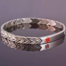 titanium allergies 11 best titanium id bracelets images on allergies