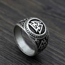 Viking Wedding Rings by Youe Shone Ethnic Men Norse Viking Odin U0027s Symbol Amulet Wiccan