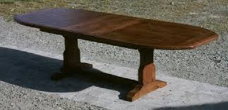 trestle base dining table dining tables sun valley wood works