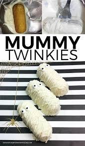 halloween mummy twinkies kitchen fun with my 3 sons