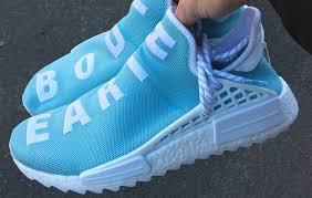 adidas nmd light blue pharrell adidas nmd hu body earth blue sneakerfiles